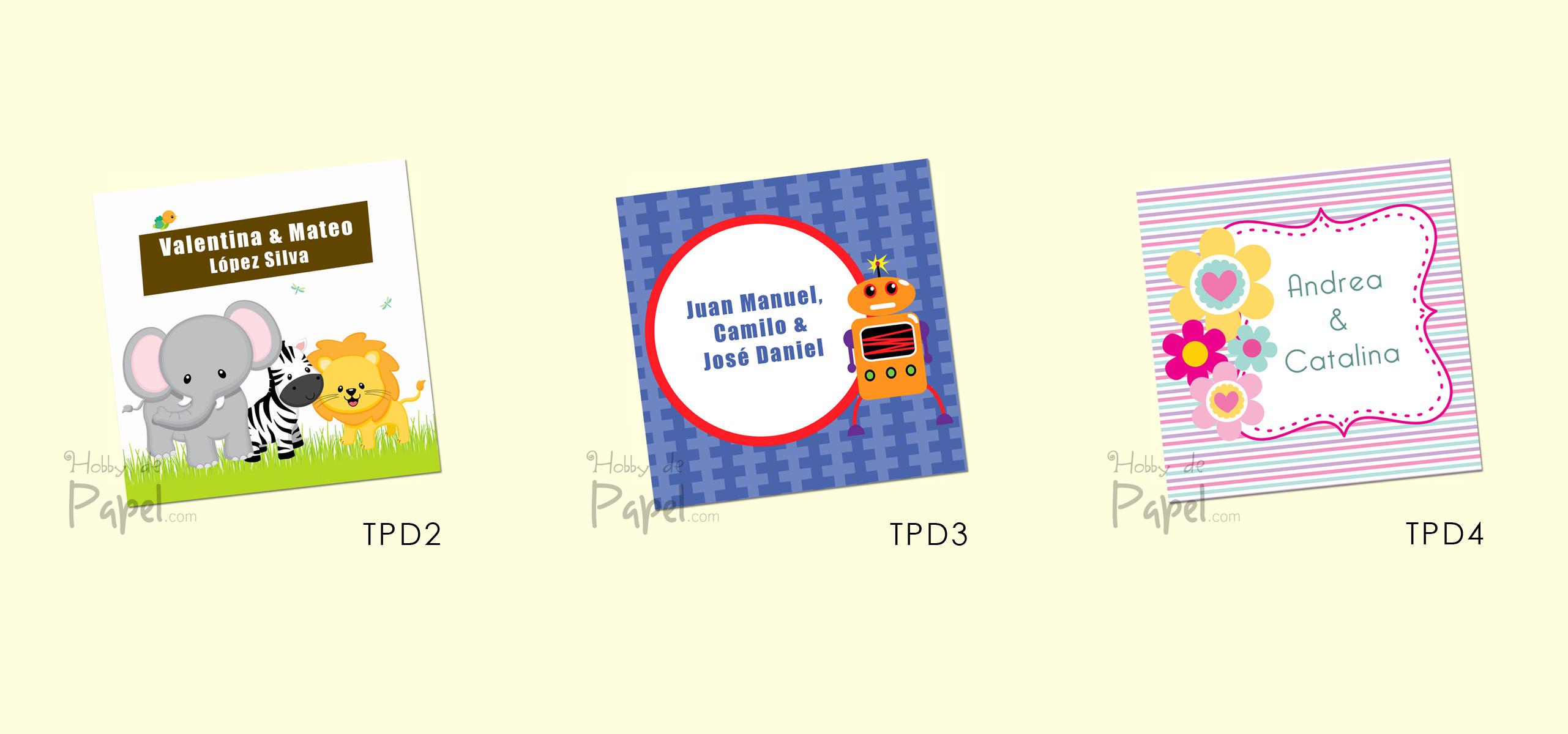 Disenos De Tarjetas Personales Infantiles Imagui