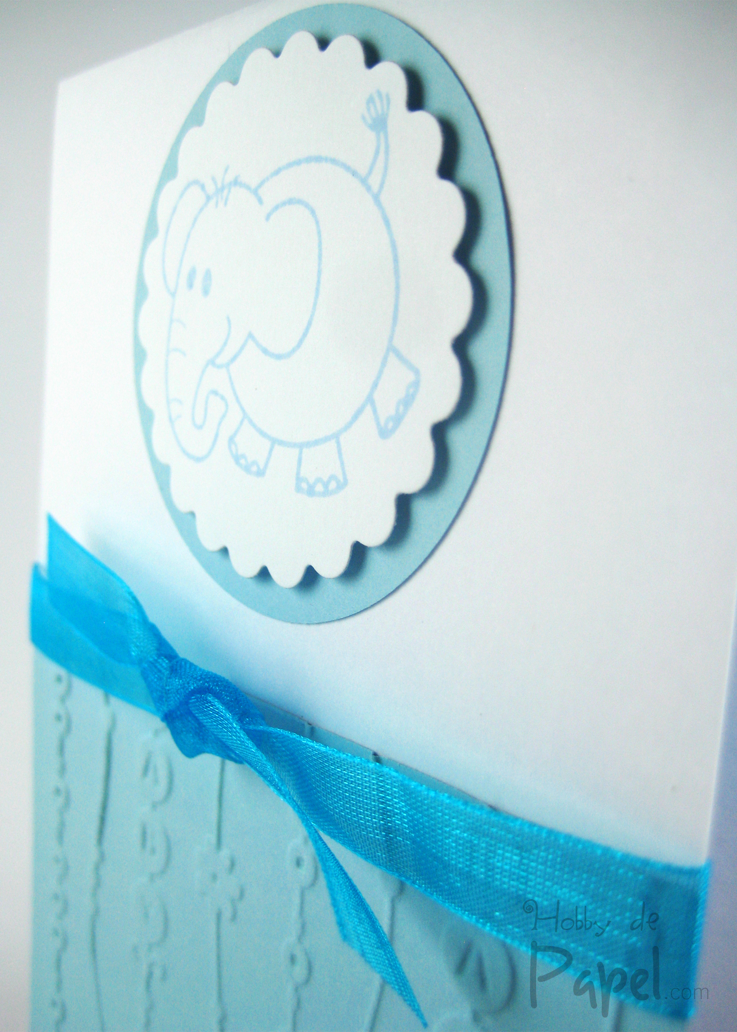 Baby Azul Tarjeta Invitación Baby Shower Hobby De Papel